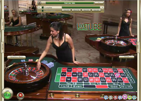 Kristine at the Roulette table