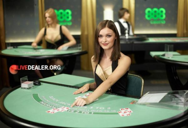 888's private live casino room