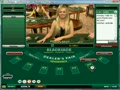 Luiza dealing live blackjack
