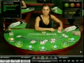 Suzanna dealing blackjack