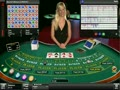 Microgaming's live baccarat